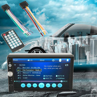 Durable 7023B Car Car 2 Din DVD Player 7 Inch Touch Screen Media Radio Player