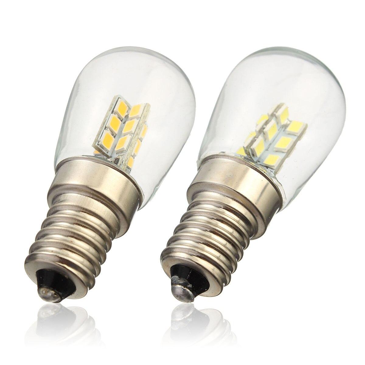 New E14 3014 SMD 24 LED 3W High Bright Silica Gel Light Lamp Bulb For  Refrigerator