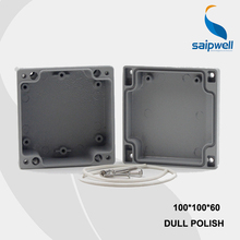 100*100*60mm Size Industrial Waterproof Aluminium Box / Electrical Aluminium Enclosure With CE,ROHS