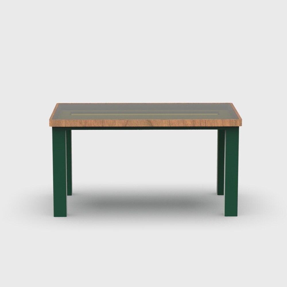 [Inyard оригинальные] [inyard надлежащего кислорода] воск Таблица/1.4 м вишневого дерева оригинальной мебелью/Nordic простой стеклянный стол кожа ПАВ