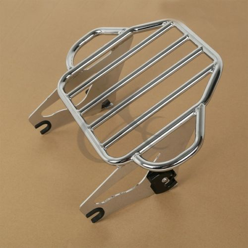 Image 3 - Motorcycle Detachable 2 Up Tour Pak Mounting Luggage Rack For Harley Touring Road King Electra Glide Road Glide 2009 2018-in Carrier Systems from Automobiles & Motorcycles