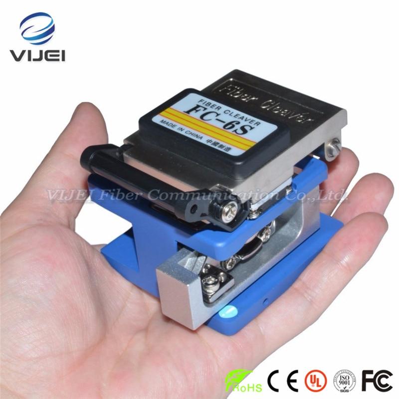 Haute Précision FC-6S Fiber Cleaver Sumitomo FC-6S Optique Fendoir De Fiber Utilisé dans FTTX FTTH matériau Métallique