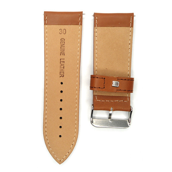 842342ad250 30mm Watch band Light Coffee Large Size Vintage Italy Oiled Calf ...