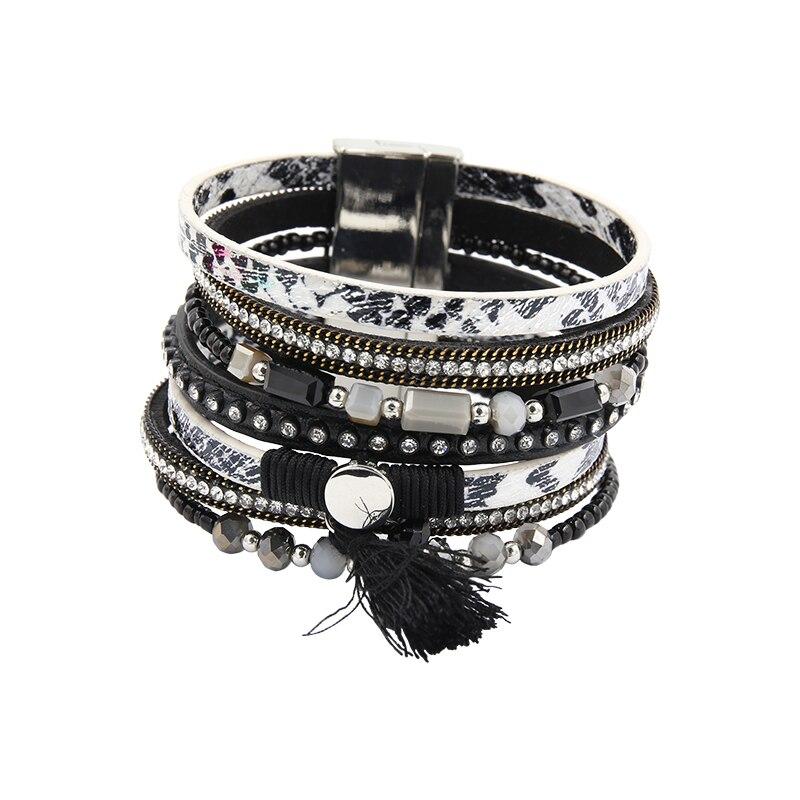 Βραχιόλι PU Δερμάτινα βραχιόλια & Bangles - Κοσμήματα μόδας - Φωτογραφία 3