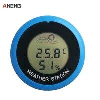 Mini LCD Digital Thermometer Hygrometer Fridge Freezer Tester Temperature Humidity Meter Detector