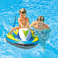 High quality surfing mount water swimming toy motorcycle inflatable child seat