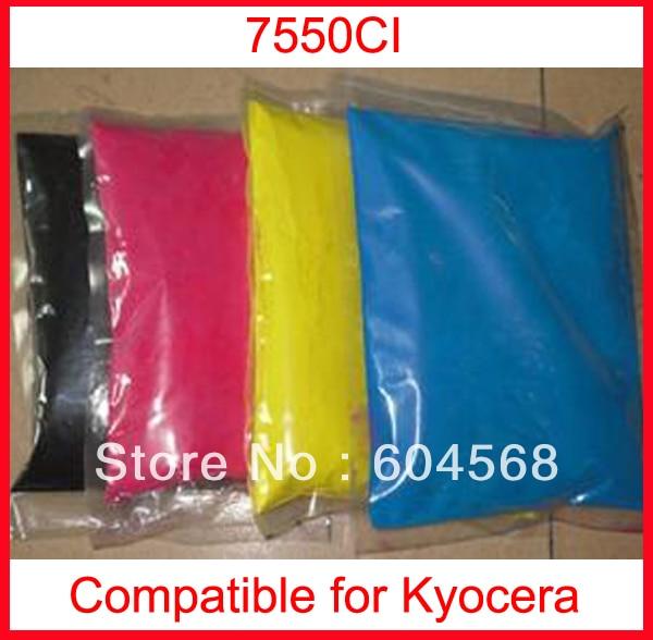 High quality color toner powder compatible kyocera 7550ci Free Shipping high quality color toner powder compatible kyocera c5350dn free shipping