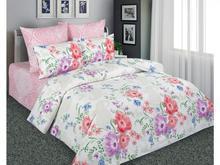Комплект постельного белья двуспальный-евро Amore Mio, цветы