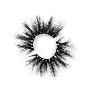 Image 4 - 100 Paris/lot 25mm Eyelashes 3D Mink False Eyelashes Crisscross Mink Lashes Soft Dramatic Eyelash Fluffy Full Makeup Eye lash