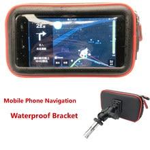 Wodoodporna wspornik do hondy VFR 1200F VFR1200F/DCT CBR 400R 500R 600F4I CBR500R akcesoria motocyklowe uchwyt do nawigacji GPS