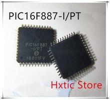 10pcs lot PIC16F887 I PT PIC16F887 TQFP44