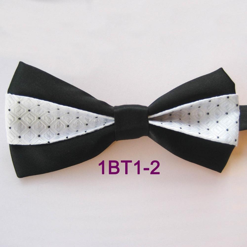 Mens White Black Blue Red Small Polka Dot Bow Tie Pre-tied Men/'s Bowtie Tuxedo