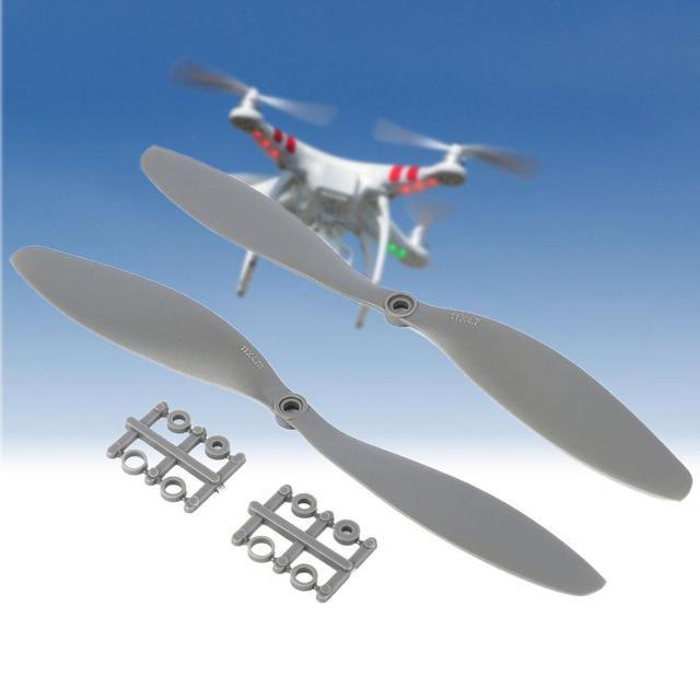 """2x APC Stylu 11x4.7 """"1147 CW CCW Propeller Dla Wielu wirnika Copter Quadcopter A676"""