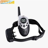Pet Dog Safety Training Collar Remote 500 M Anti Barking Rechargeable Waterproof Range 546 Yards Vibration Shock Electric Collar
