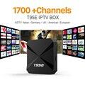 Caixa De Streaming De IPTV 1700 Europa Pacote Céu IPTV Canal Árabe Inteligente Android Wi-fi 1G/8G Itália Portugal Francês Caixa de TV IP receptor