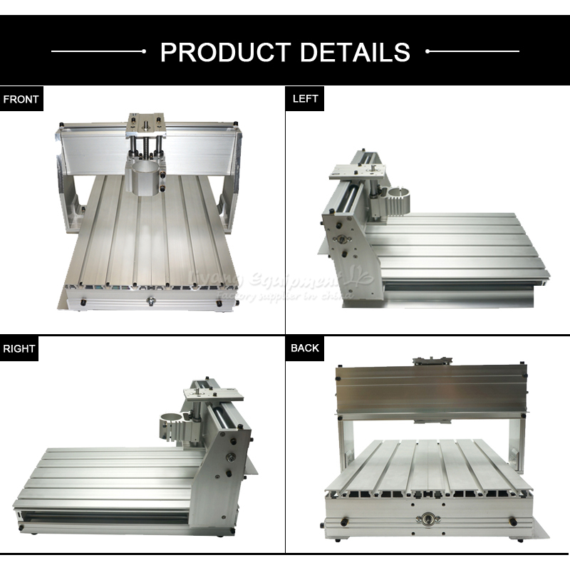 DIY mini CNC frame for 3040Z-DQ milling and engraving machine,30X40 frame