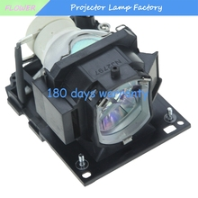 High Quality DT01433 Replacement Projector Lamp with Housing for Hitachi CP-EX250 / CP-EX250N / CP-EX300 with 180 days warranty projector lamp dt00301 without housing for cp s220w x270w hitachi