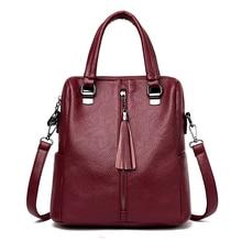 купить Ladies Fashion Zipper PU Leather Tote bags Women's Famous Brands High Quality Shoulder Crossbody Bag Black Female Messenger Bags по цене 1455.68 рублей