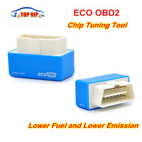 5pcs/lot Hot Selling EcoOBD2 Diesel/Petrol Car Chip Tuning Box Plug & Drive ECO OBDII Tuning Box Lower Fuel & Lower Emission