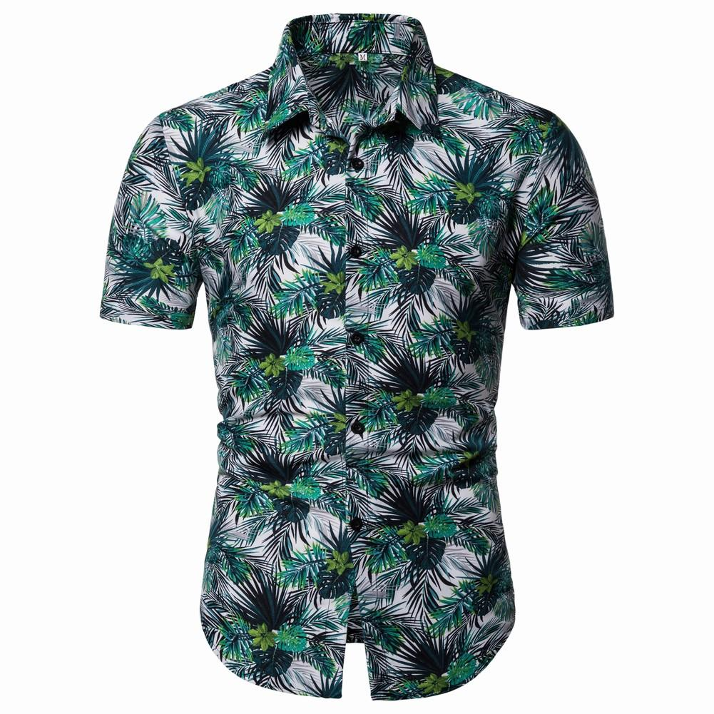 Flower Shirts Men Blouse Mens clothing Hawaiian Style Summer New Camisa masculina Casual Shirt Floral Short Sleeve in Casual Shirts from Men 39 s Clothing