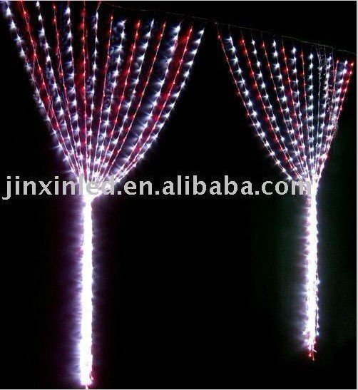 free shipping LED curtain light