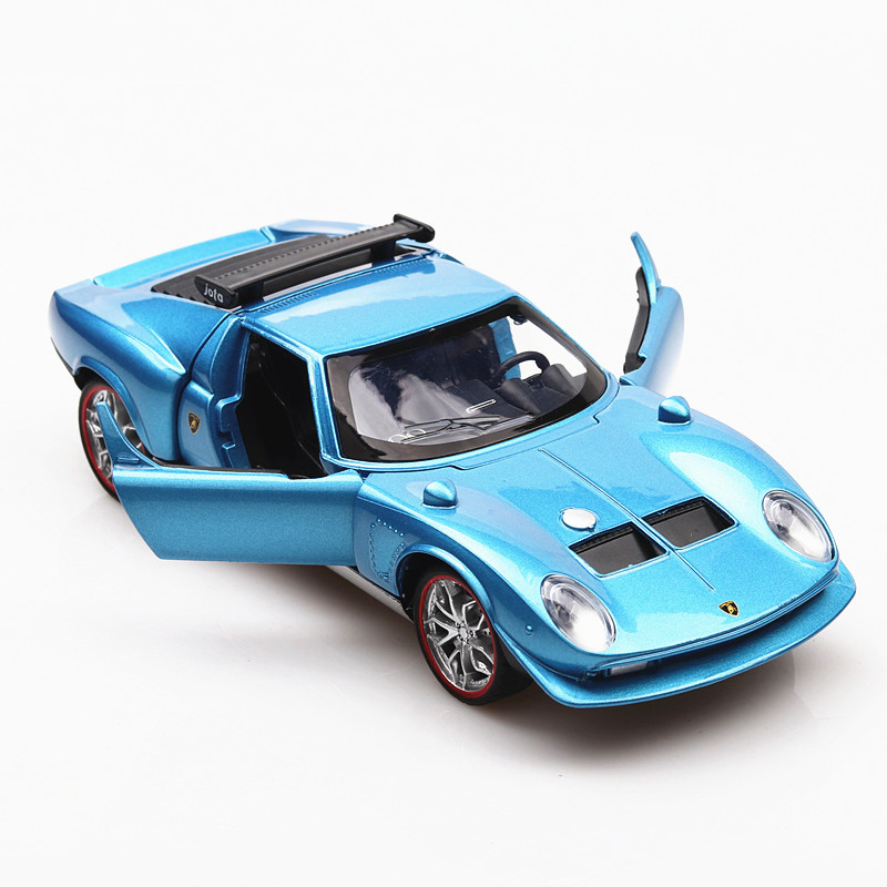 1:32 Toy Car Miura Concept 1965 Metal Toy Alloy Car Diecasts & Toy Vehicles Car Model Miniature Scale Model Car Toy For Children 1 toy т58714