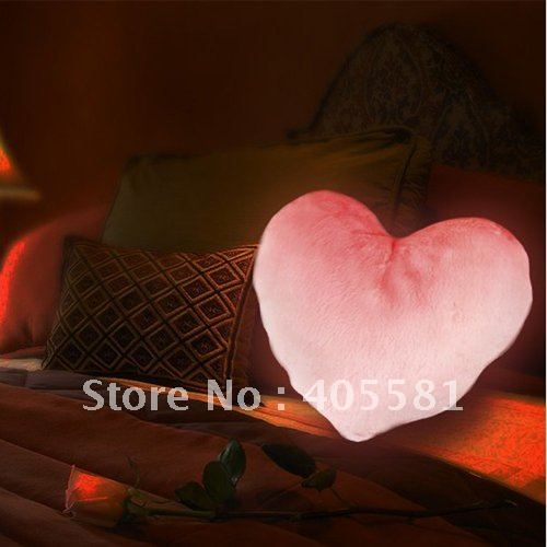 free shipping Heart shape moonlight cushion,soft pillow,sofa cushion