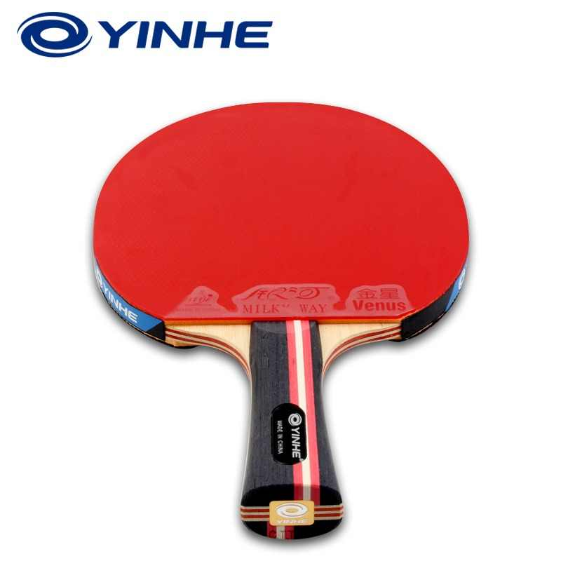 Original Yinhe Galaxy 7 Stars National Table Tennis Racket Pimples-in Rubber Ping Pong Raquete De Pingpong Bat