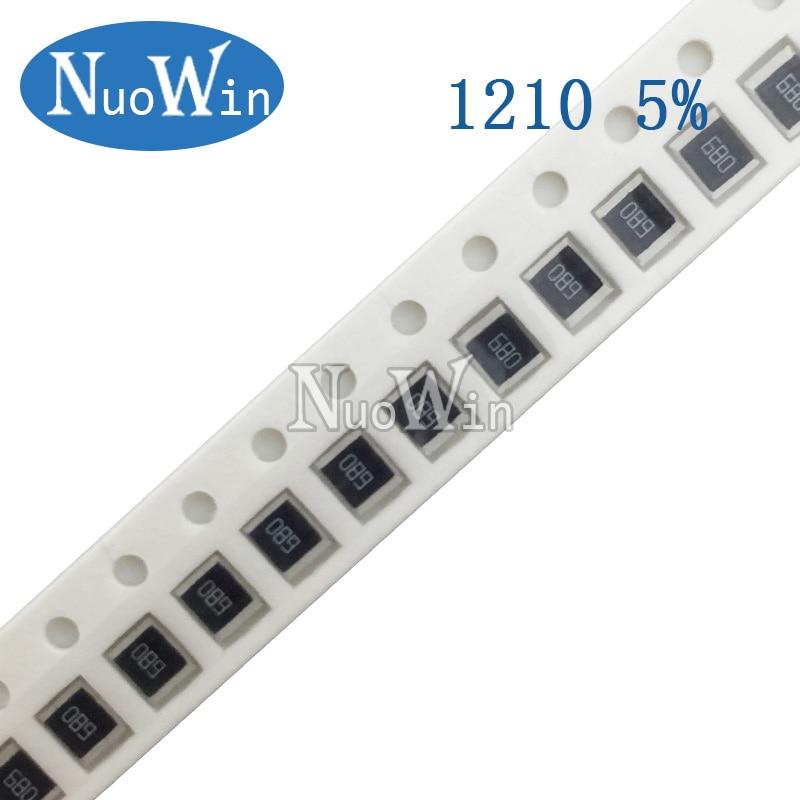 200PCS//LOT 0805 SMD Resistor 5/% 1//4W Chip Fixed Resistors 120K ohm 120KR 124 Resistance