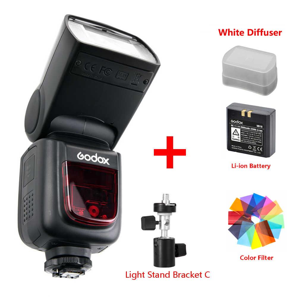 Godox ינג V860 השני V860II Speedlite ליתיום סוללה מהיר HSS פלאש עבור Sony A7 A7S A7R עבור ניקון Canon עבור אולימפוס פוג 'י