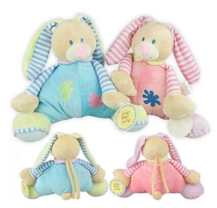 2018 New Lovely Bunny Baby Toys Music Box Bell Baby Rattles Super