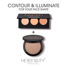 2017 Brand HERES B2UTY PROMOTION SET concealer+bronzer/high lighter Soft Matte V Shape Choose color you like