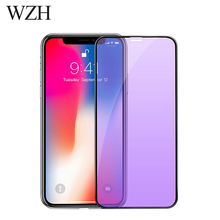 WZH Full Cover Tempered Glass for iPhone X XS 0 25mm 3D Screen Protector for iPhone