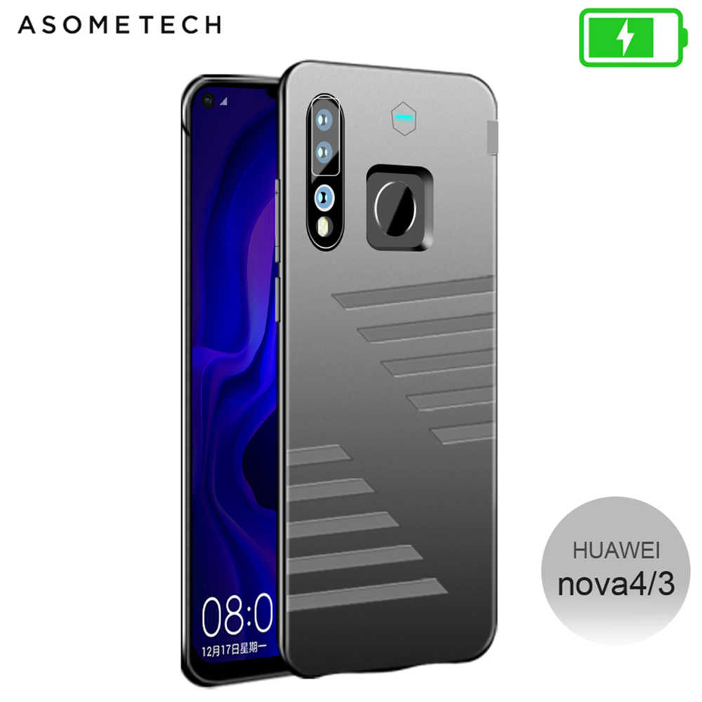 6800mAh Battery Case For Huawei Nova 4 Power Bank Battery Charger Case Thin Fast Charging Cover Powerbank Case For Huawei Nova 3