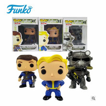 цены Funko Pop Gaming Heads Fallout 4 Vault Boy 1 PVC Action Figure Toys for Friend Children Birthday Gift Collection For Movie Fans