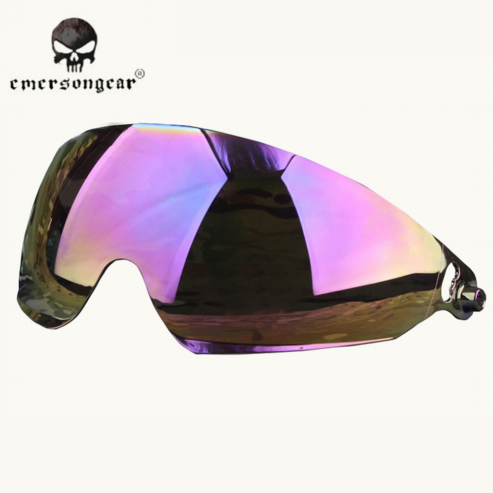 EMERSON Military Tactical Goggle Glasses for FAST Helmet Anti-fog Airsoft  Shooting Hunting Goggle Camping Hiking Eyewear EM8817 badeded5a2d8