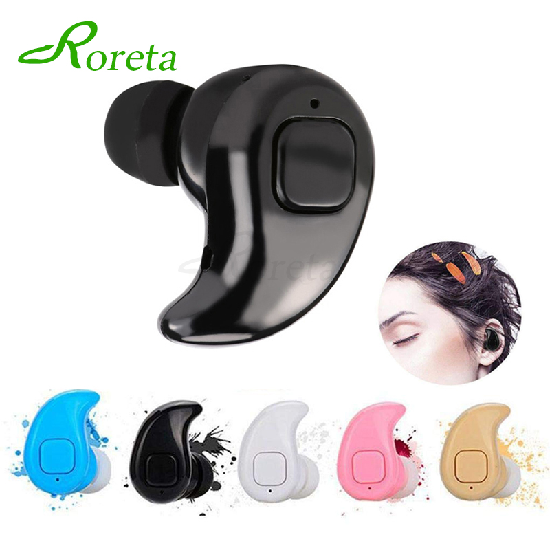 Roreta S530X Mini Wireless Bluetooth Earphone In Ear Sport Headset With Mic Handsfree Earbud Earphone For IPhone XR 8
