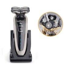 5D Плавающей Аккумуляторная Всего тела моющиеся Мужчин Электробритвы Водонепроницаемый Моющийся Борода Бритья Триммер Электрический Бритва