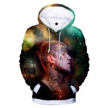 new lil peep 3D Hoodies Sweatshirts Men/Women Fashion Hip Hop Hot sale Hoodie plus size shirt
