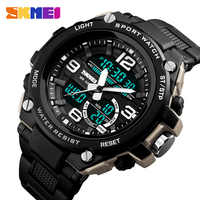 Relogio Masculino Mens Sports Watches Dive 50m Digital LED Military Watch Men Casual Electronics Wristwatches Relojes SKMEI 2018