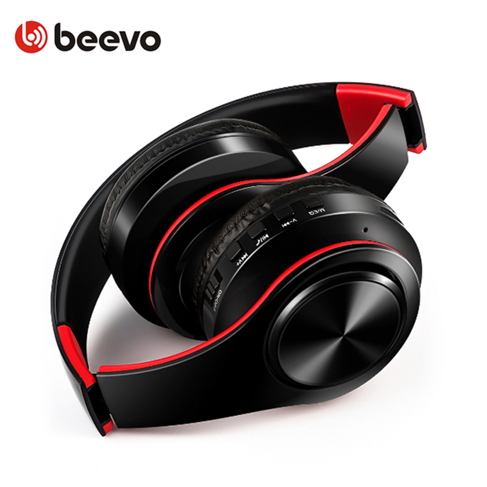 Portable Folding Bluetooth Headphones Splicing Color Wireless Sports Headset Support TF Card Handsfree Calls For Mobile Phone lesoi f1 portable wireless bluetooth speaker support tf card