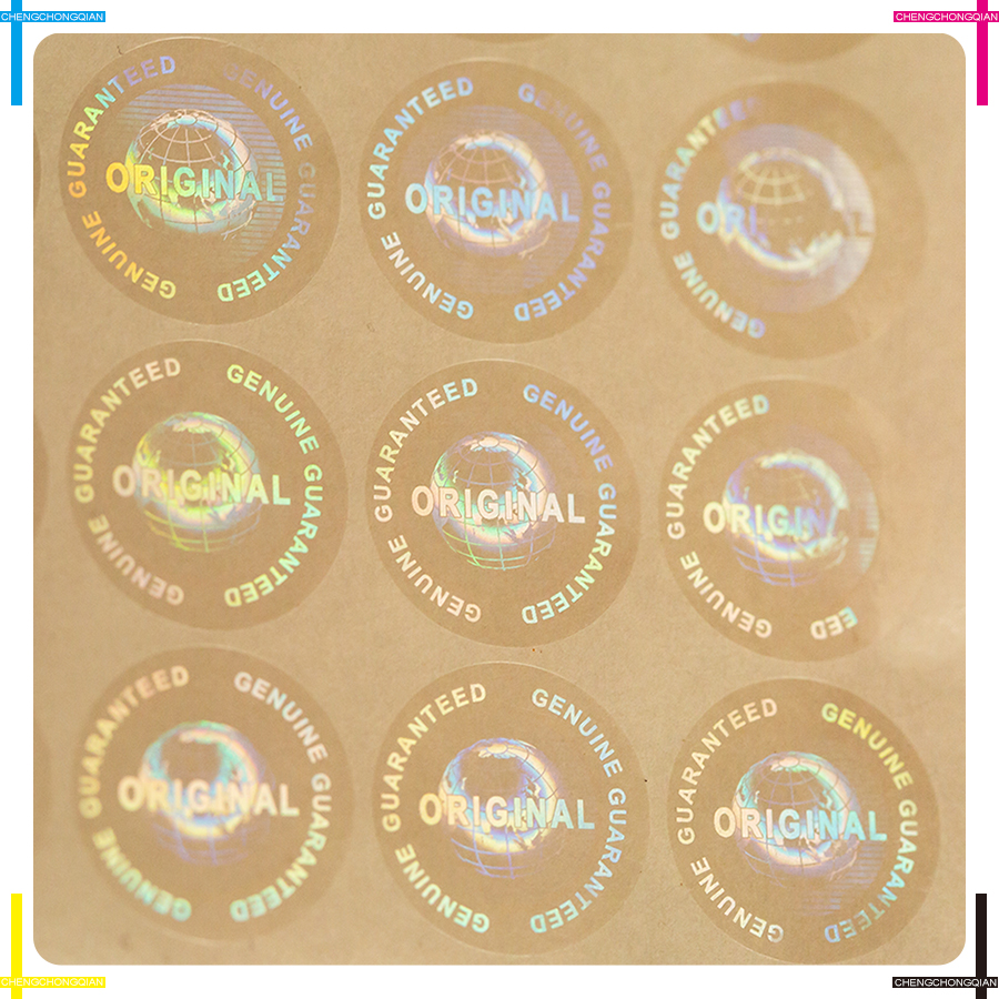 Image 5 - Custom Hologram Genuine Guaranteed and Original Hologram sticker multiple colors Global design logo Diameter 20mm 2000 pcs a lotsticker designstickers free shippingstickers stickers -