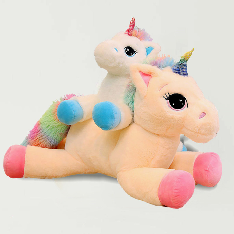 Giant Cute Unicorn Plush Toys for Kids Stuffed Animals Soft Doll Cartoon Unicorn Animal Horse High Quality Gift For Children