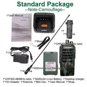 Image 5 - A lunga distanza Radio bidirezionale LEIXEN NOTA Ad Alta potenza 20W camouflage UHF 400 480MHz 4000mAh Prosciutto radio