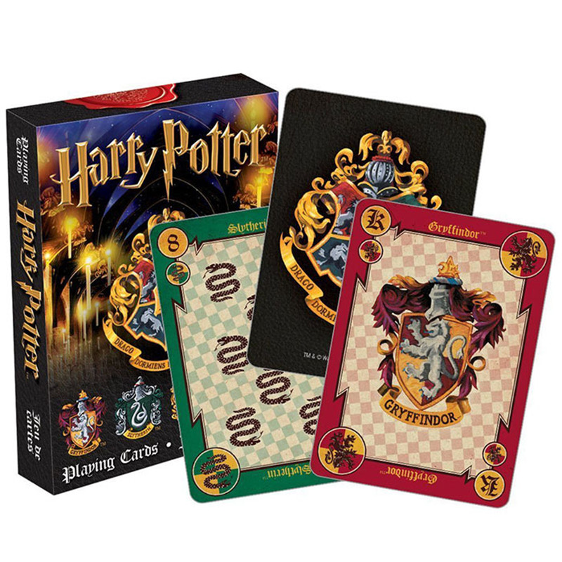 Harri Potter Playing Game Cards 2 Patterns Table Games Family Party Popular Board Game Indoor Thinking Best Gift For Children