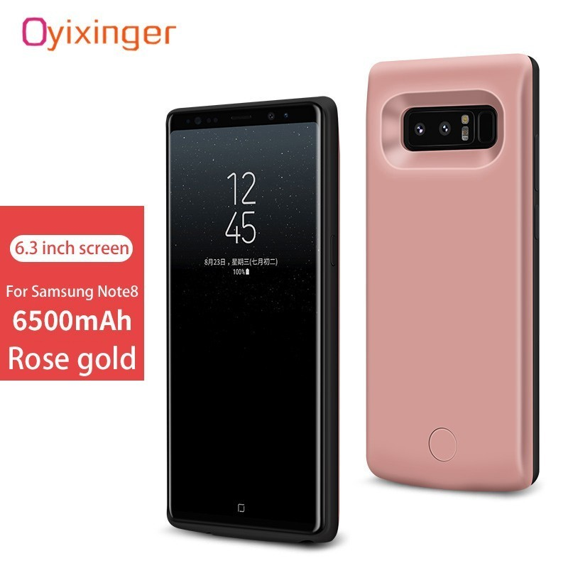 Phone Bags & Cases Battery Charger Cases Efficient Oyixinger External Portable Power Bank Battery Case For Samsung Note 9 Charger Cases Real 5000mah Battery 2a Smart Fast Charge