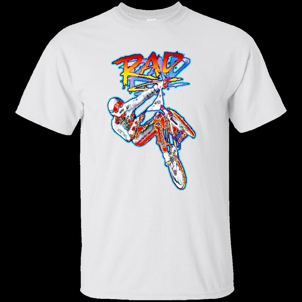 Rad Freestyler BMX Movie Freestyle Biker trick jump - T-Shirt