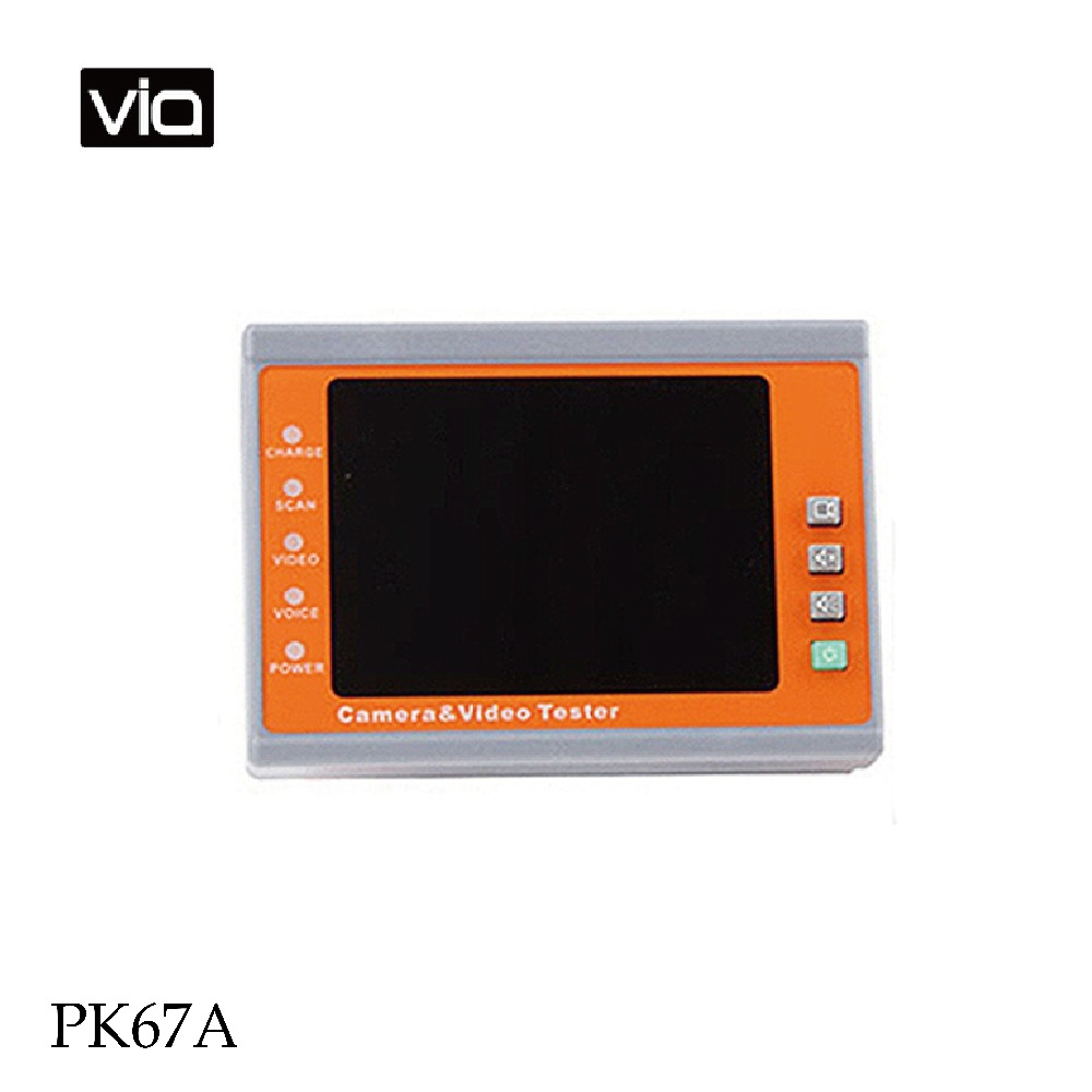 PK67A Free Shipping Video Monitor Tester Test Instrument Engineering Treasure Improve the Efficiency Wearable CCTV Testers 1 bottle free shipping aloe softgel soft capsule improve the immunity