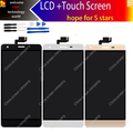 white black gold 5.5inch 100% Original Oukitel k6000 LCD Display + Touch Screen  Assembly For oukitel k6000+tools