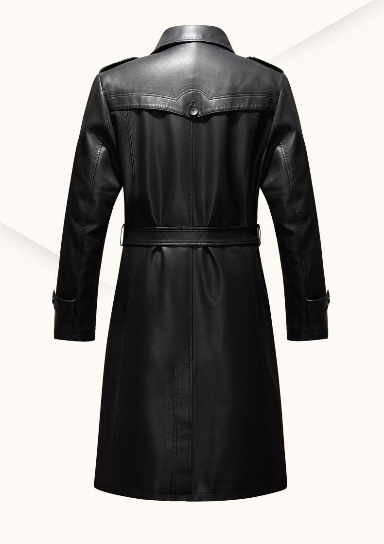 Aliexpress.com : Buy Autum Winter Leather Jackets Mens Black ...